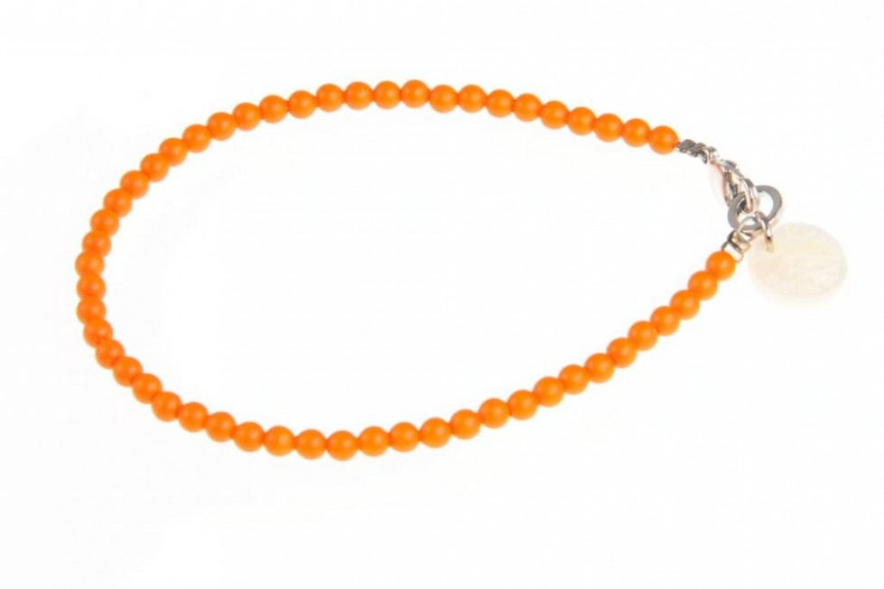 oranje armband