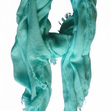 aqua sjaal
