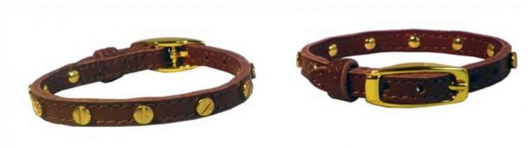 Choco | Leren armbandje - Collectie Bloved 1