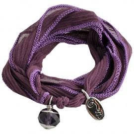 zijde wikkelarmband