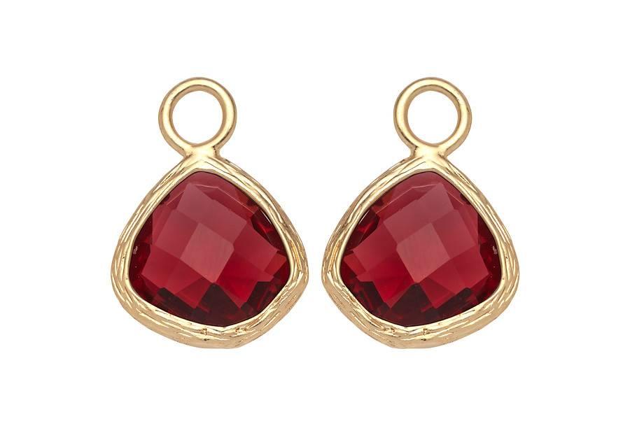 Hangers voor creolen Ruby - Biba oorbellen - Fashion by Fleur