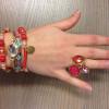 Goudkleurige armband - Azone by Versteegh 2