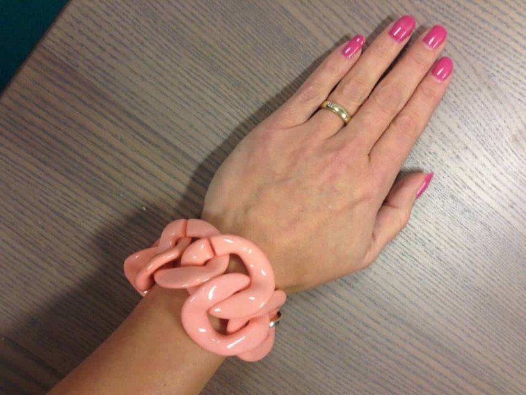 Armband roze - Collectie Azone by Versteegh 2