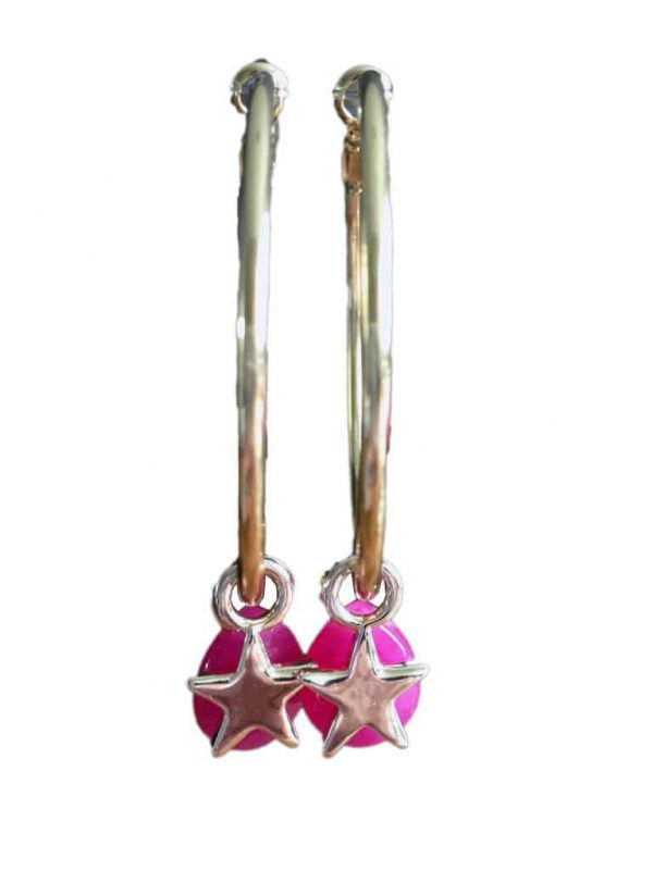 creool met roze hanger