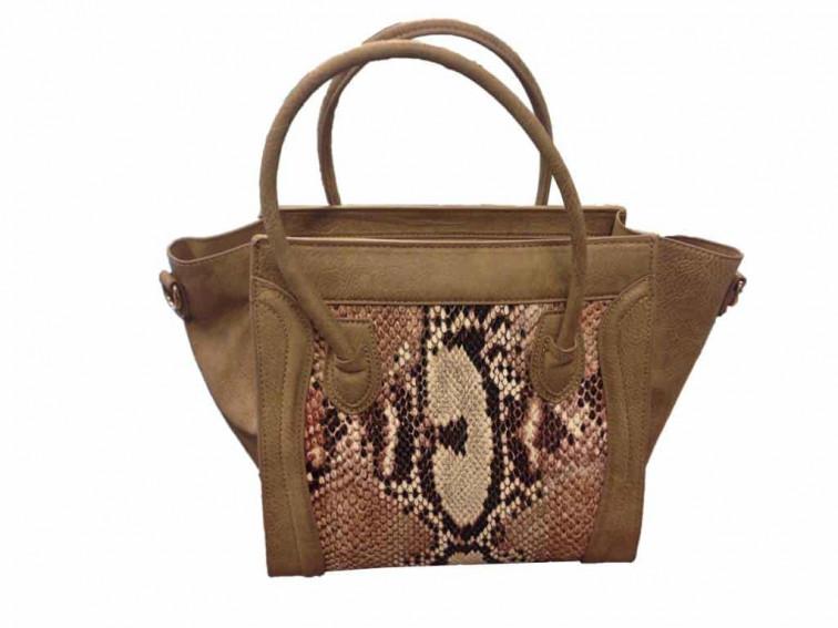 Camelkleurige tas - Collectie Fashion by Fleur 1