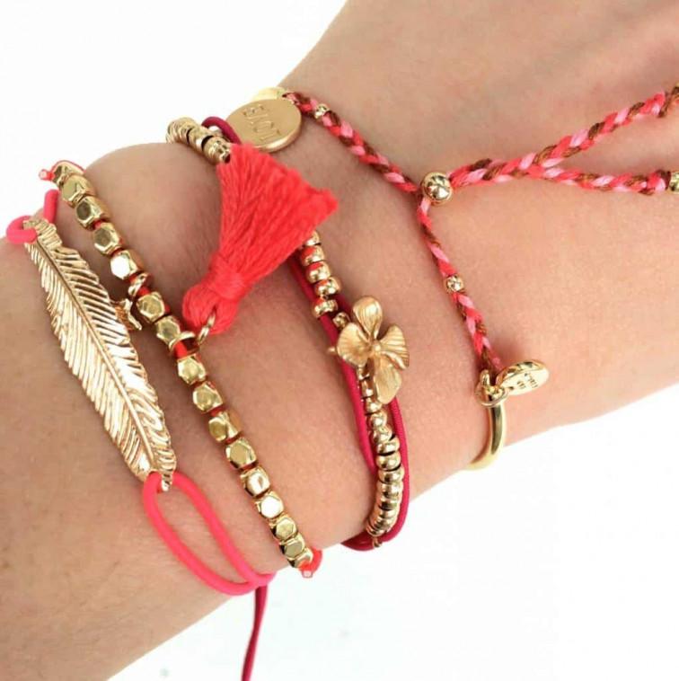 Roze armbandje - My Jewellery armbandjes 1
