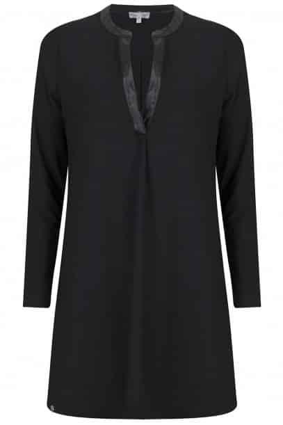 Zwart Basic Jurkje.Basic Zwart Jurkje Collectie Missy Taylor Fashion By Fleur