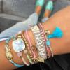 Ananas armbandje roze - My Jewellery 2