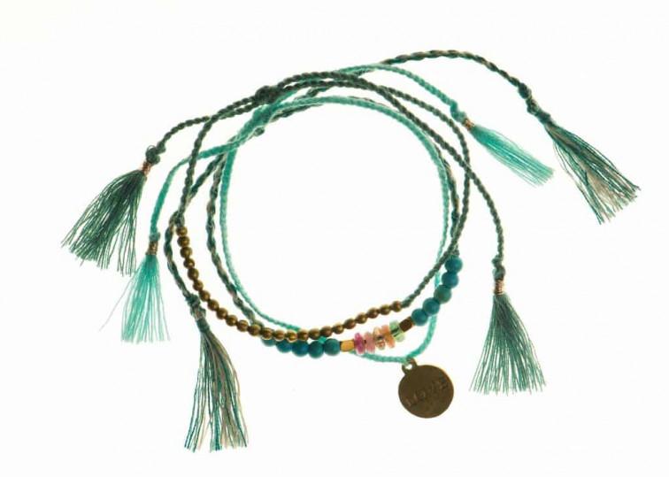 blauwe armbandjes