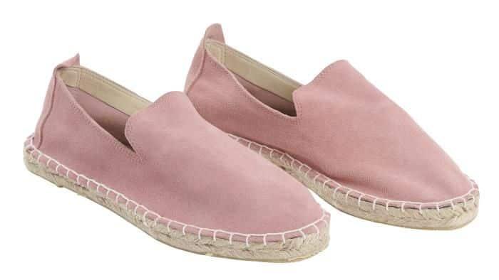 roze espadrille