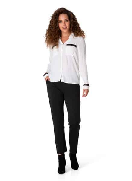 Witte dames blouse - Yest 2