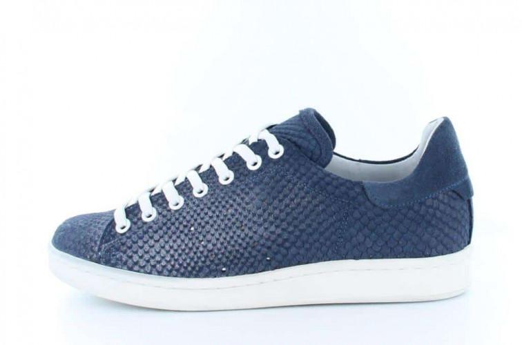 donkerblauwe dames sneaker