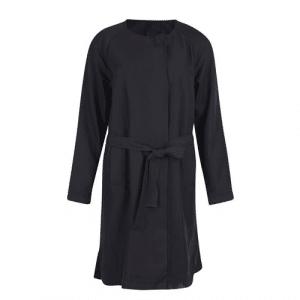 zwarte dames trenchcoat