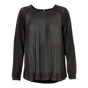 zwarte dames blouse