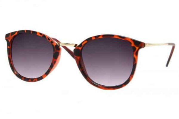 zonnebril met panter print