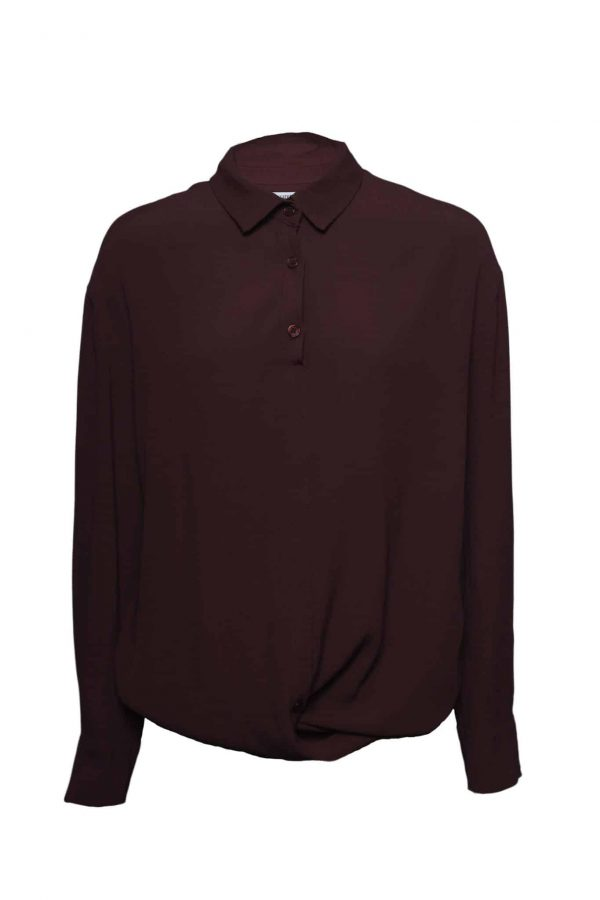bordeaux rode blouse