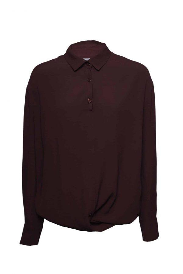 bordeaux rode blouse