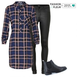 jegging-blousejurk-boots