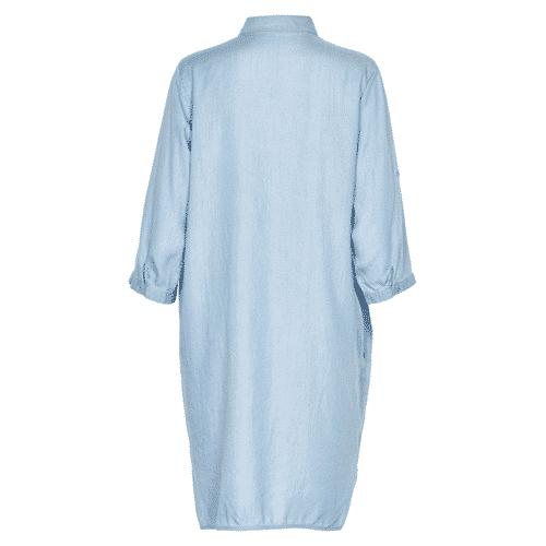 achterkant jeans blouse jurk