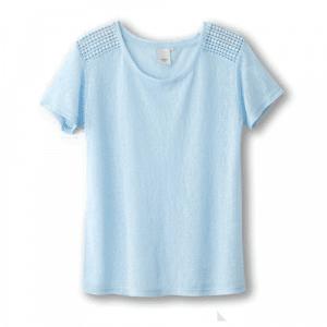 lichtblauw tshirt lirette