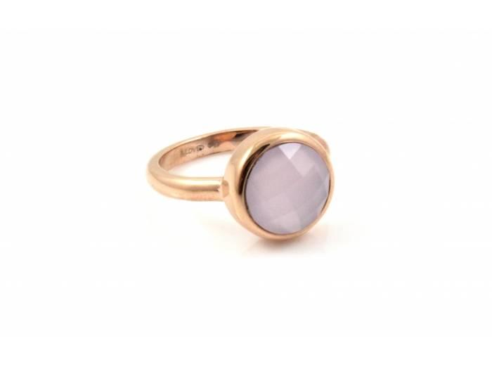 B loved ring met roze steen
