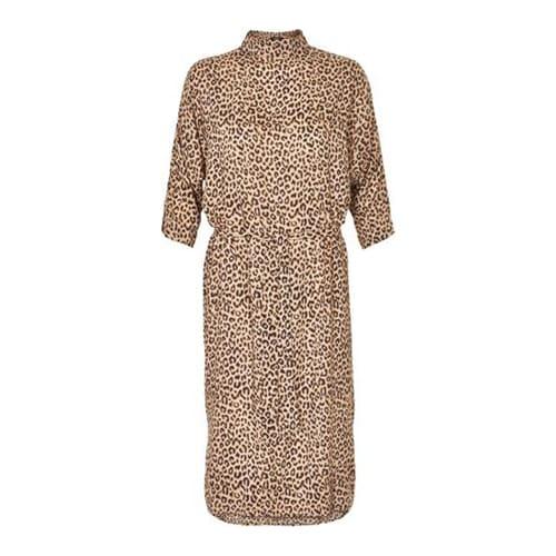 tijgerprint jurk