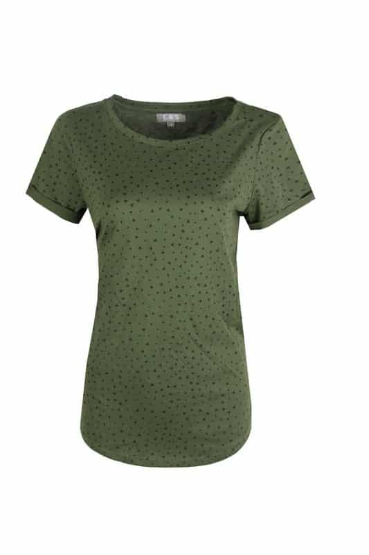 groen dames t shirt