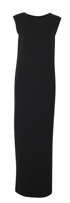 lange zwarte jurk