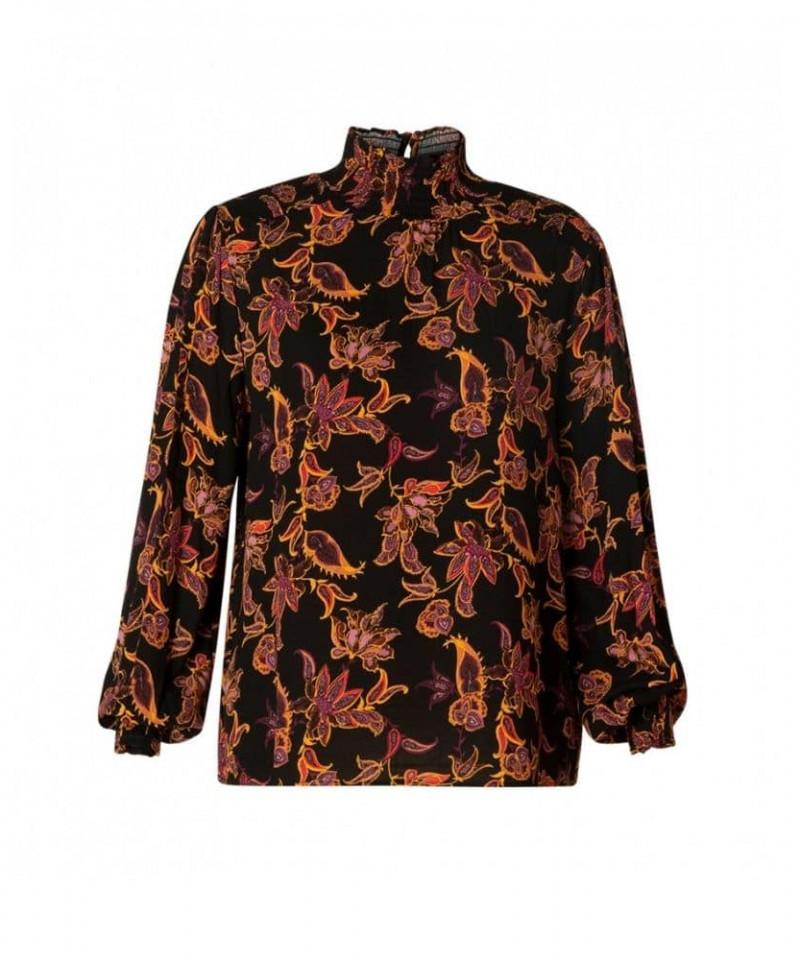 blouses met print