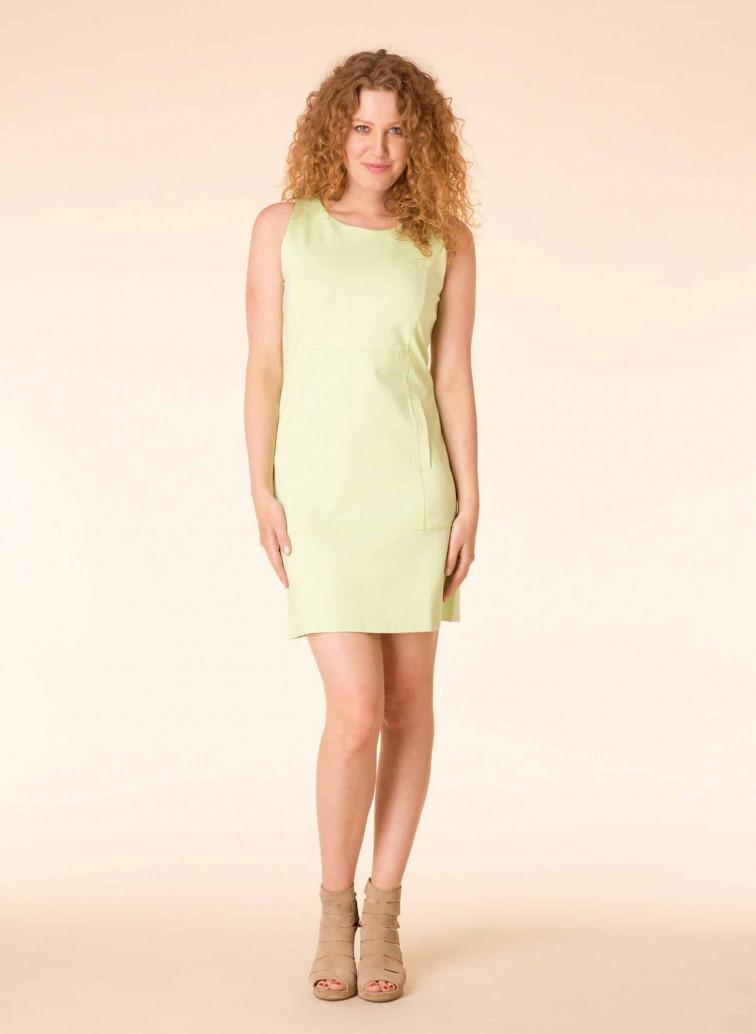 lichtgroene jurk