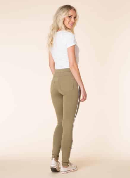 Olijfgroene Yest tregging - Yest Fashion Collection 1