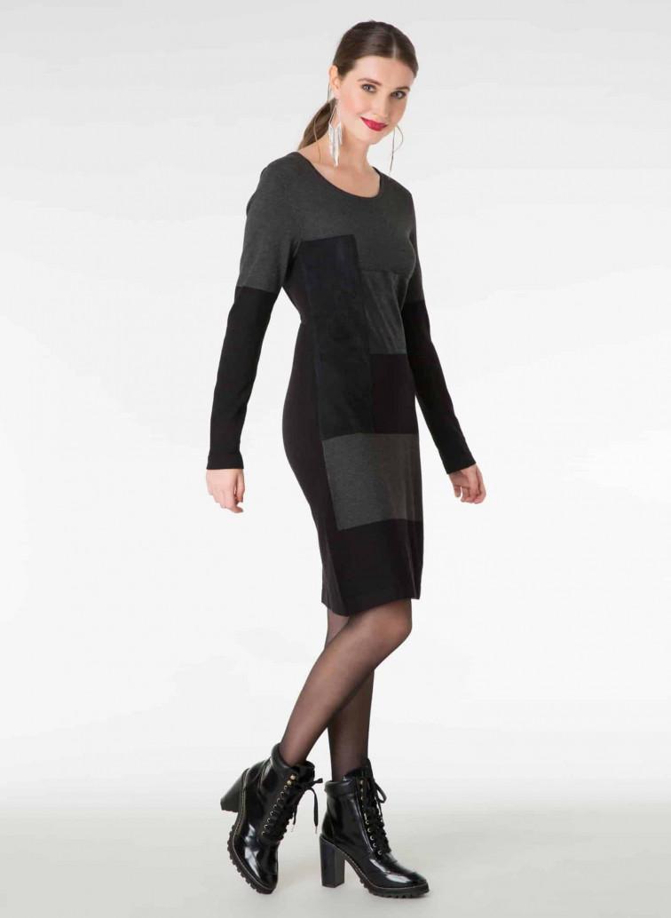 Zwart jurkje - Yest kleding 1