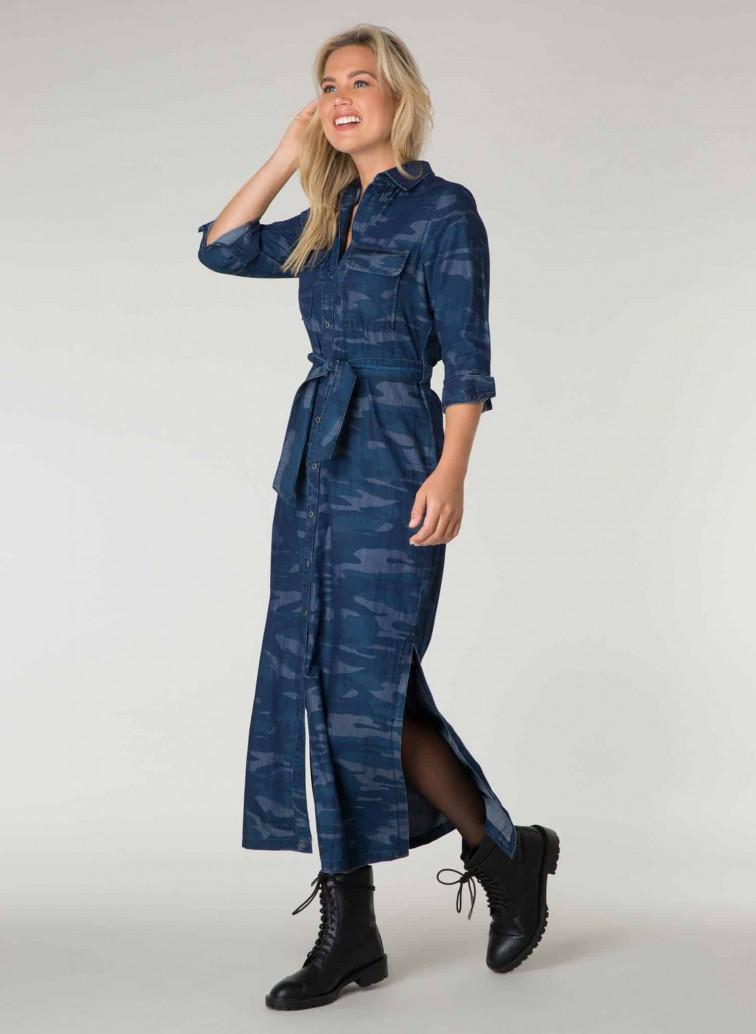 Maxi jurk met print - Ivy Beau 1