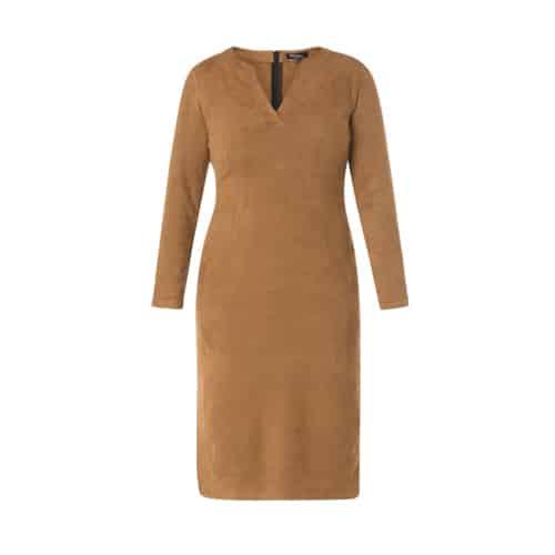 Suedine jurk