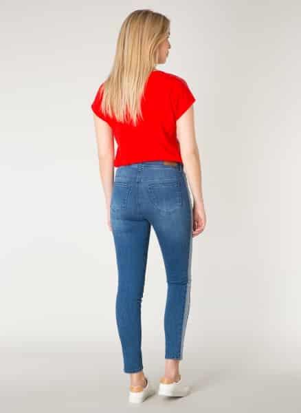 Spijkerbroek met streep - Yest 1