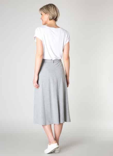 Grijze rok - Yest kleding 1