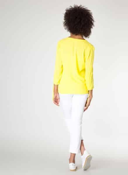 Gele damesblouse Indigo - Yest kleding 1