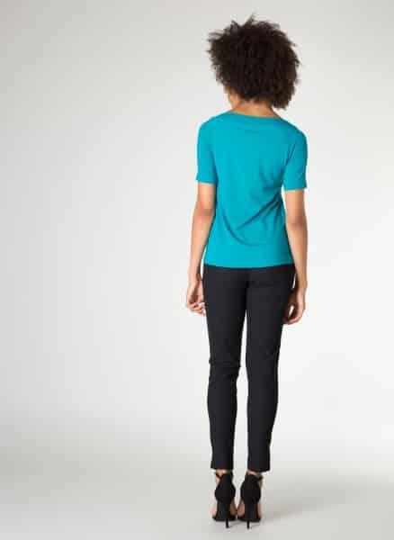 Groen damesshirt Idetta - Yest kleding 1