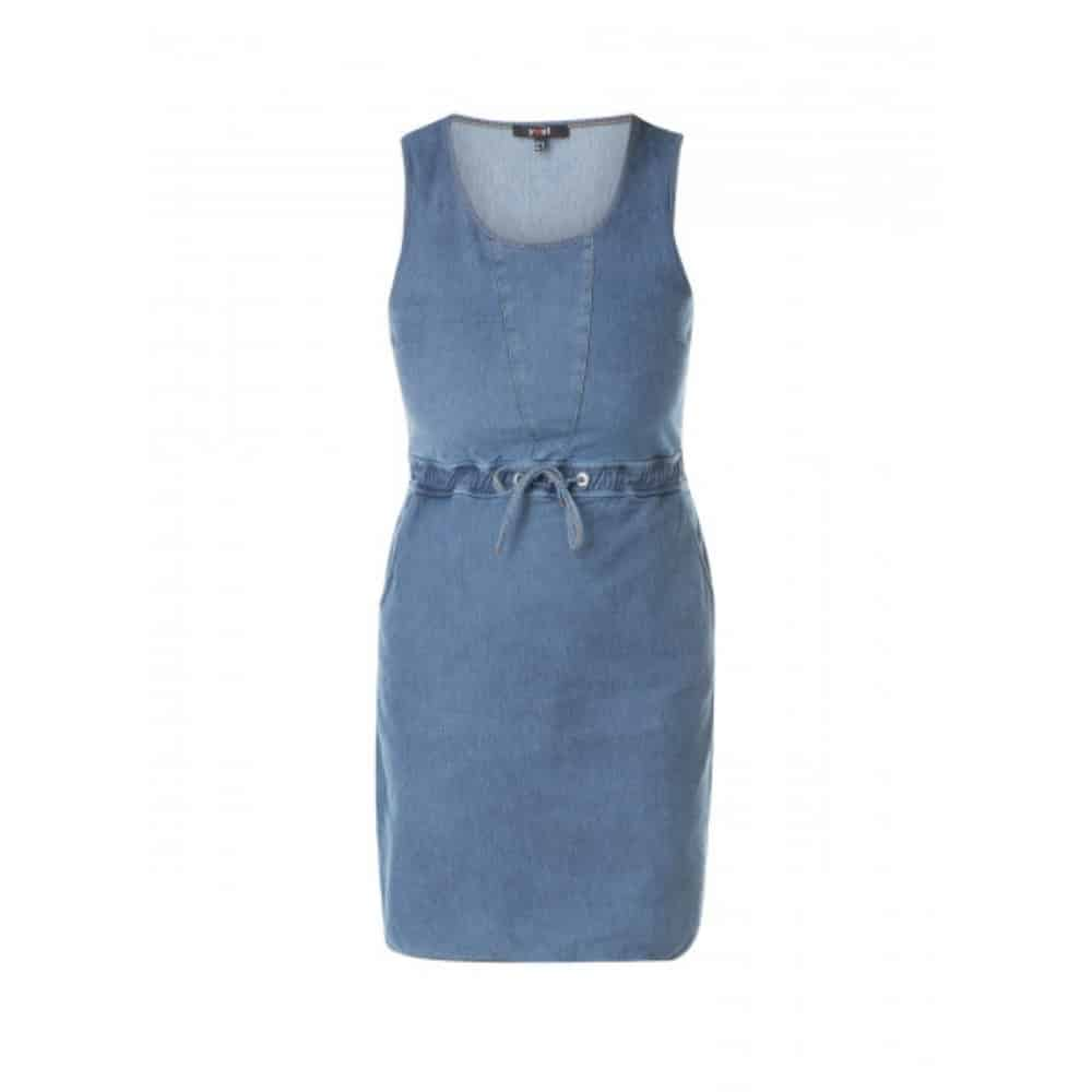 3e45952c885b31 Blauw zomerjurkje - Yest kleding - Fashion by Fleur