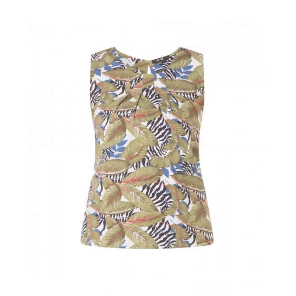 dames top met print