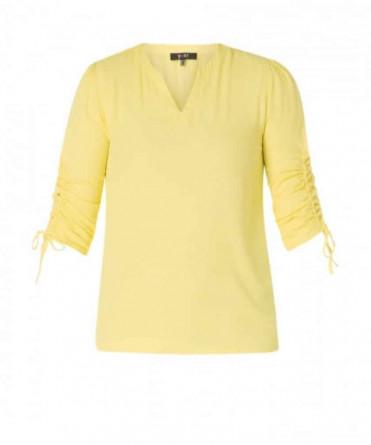 gele damesblouse