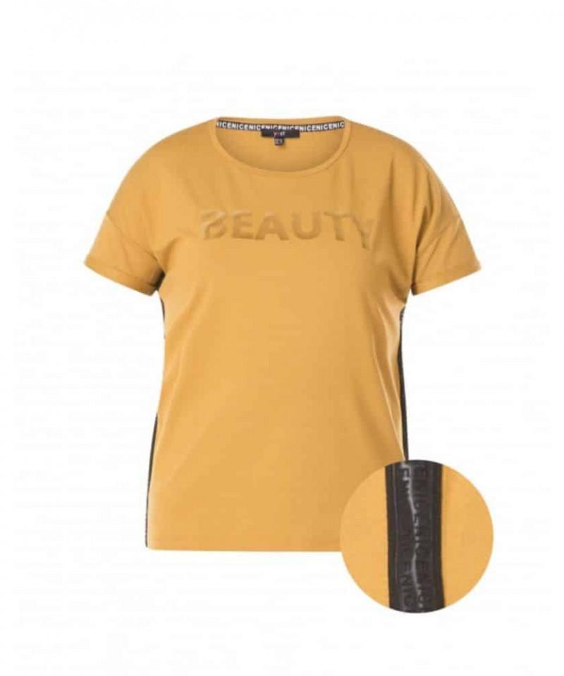 geel shirt dames