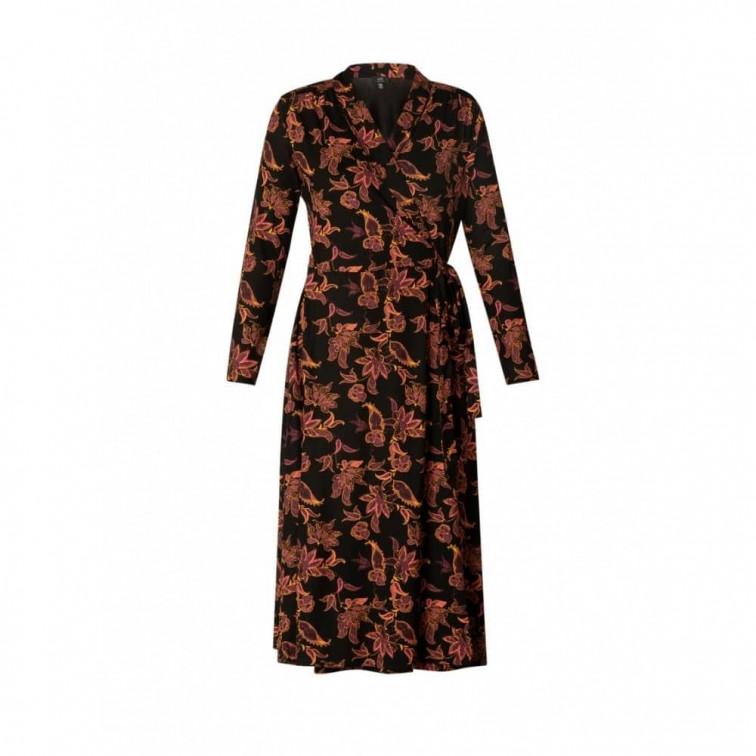 overslag jurk dames