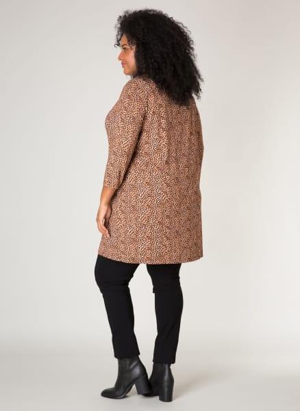 Tuniek met print - By Bella Plus size kleding 1