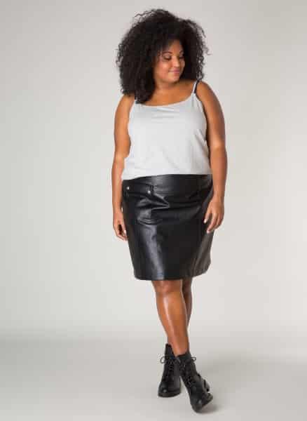 Grijze top - Ivy Bella Plus size kleding 1