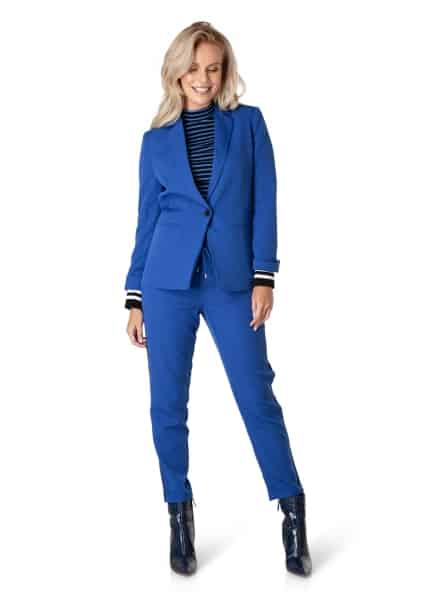 blauwe blazer