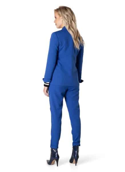 Blauwe blazer Electric blue - Yest 2