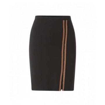 zwarte rok kort