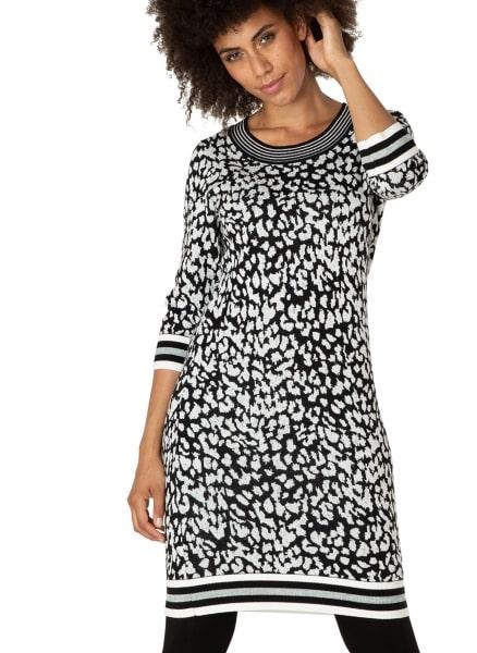 Zwart wit jurkje - Yest 1