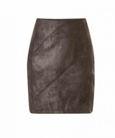 zwarte korte rok